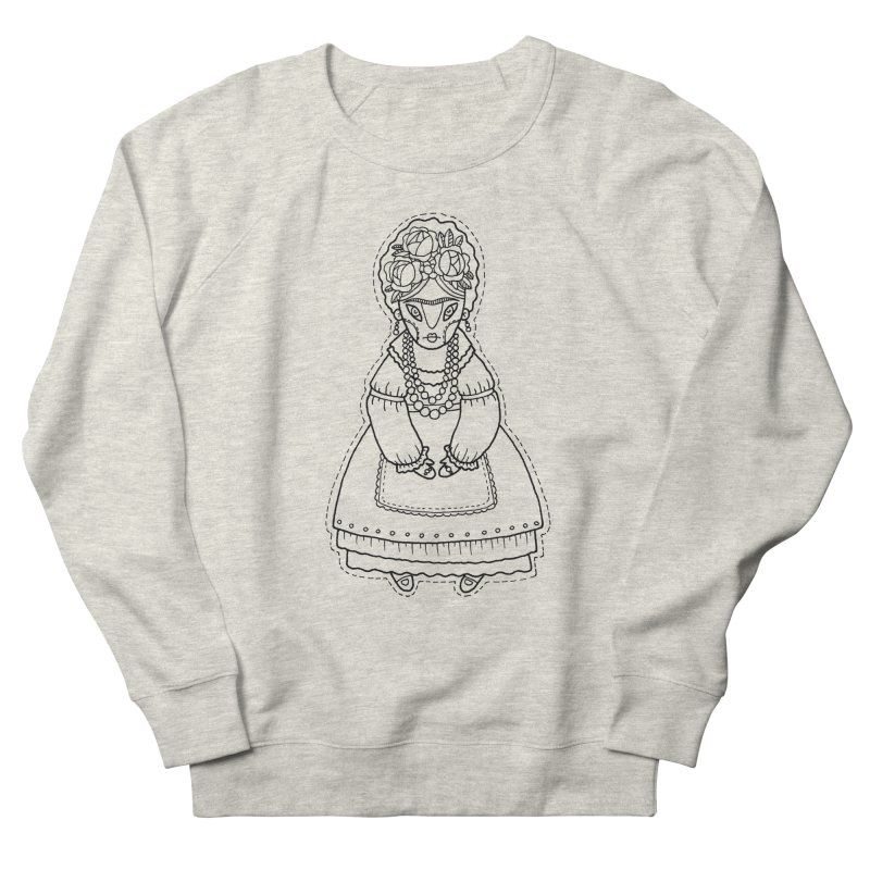 Frida Kahlo Men's French Terry Sweatshirt by Crazy Pangolin's Artist Shop