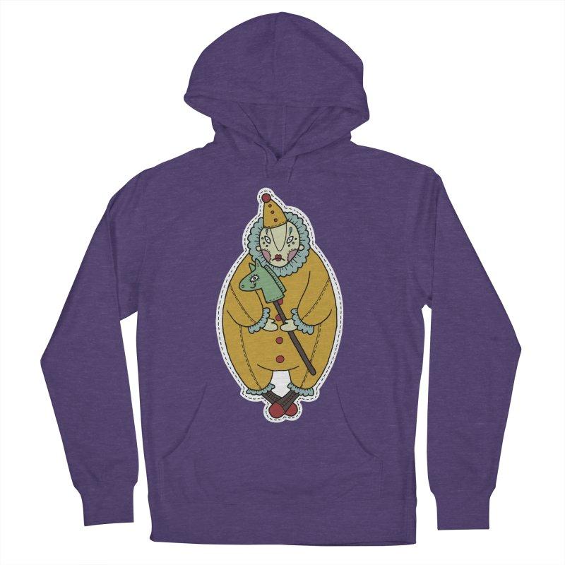 Clown Men's Pullover Hoody by Crazy Pangolin's Artist Shop