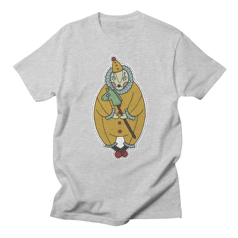 Clown Women's Regular Unisex T-Shirt by Crazy Pangolin's Artist Shop