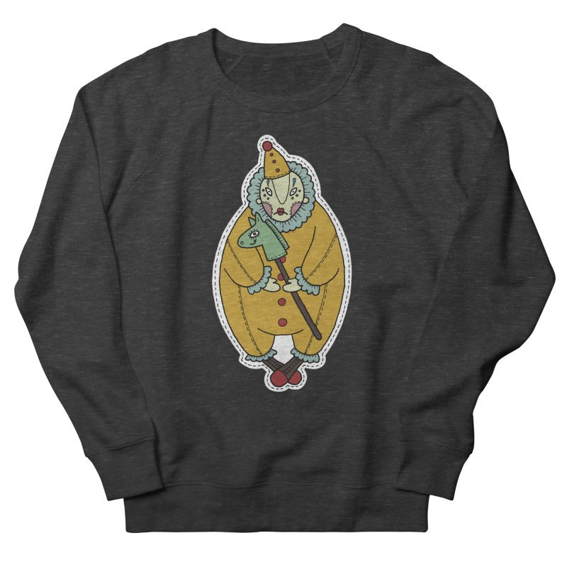 Clown Women's Sweatshirt by Crazy Pangolin's Artist Shop