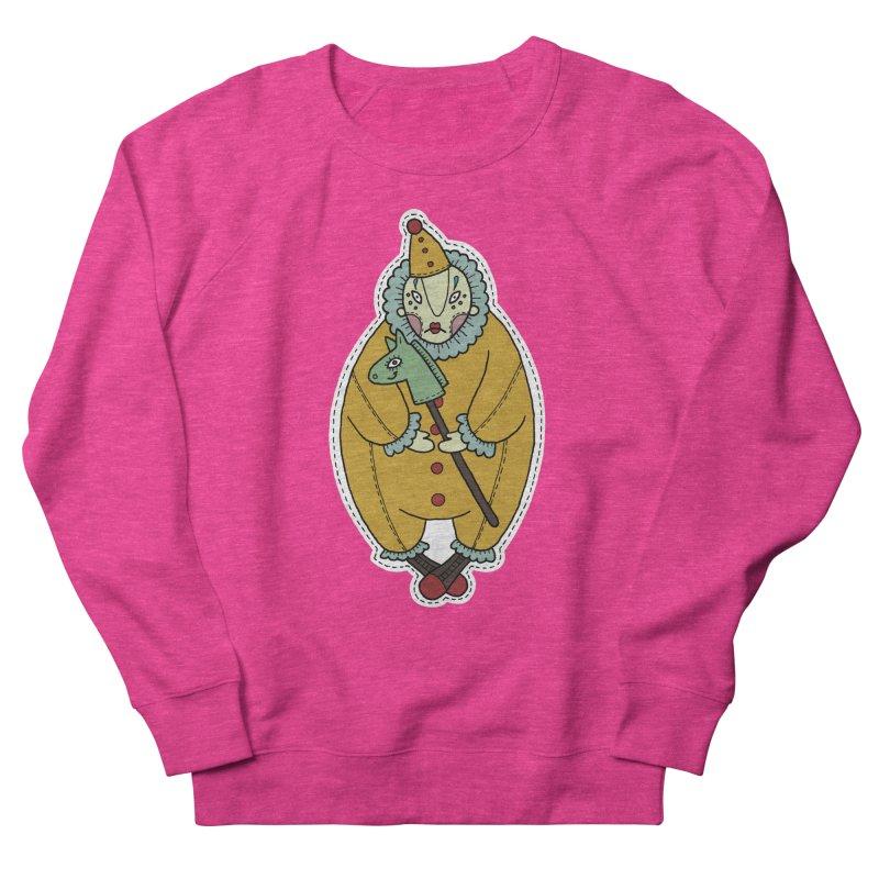 Clown Women's Sweatshirt by Crazy Pangolin's Artist Shop