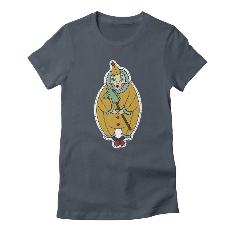 Clown Women's T-Shirt by Crazy Pangolin's Artist Shop