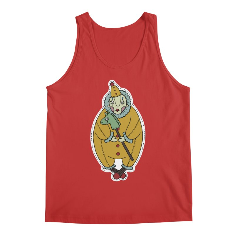 Clown Men's Regular Tank by Crazy Pangolin's Artist Shop