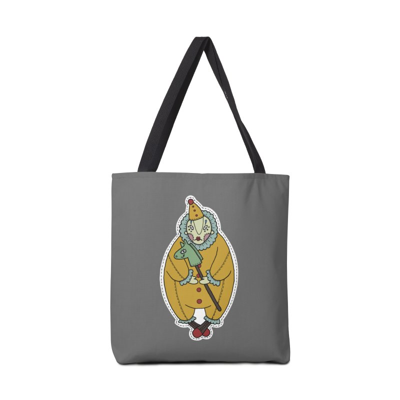 Clown Accessories Tote Bag Bag by Crazy Pangolin's Artist Shop