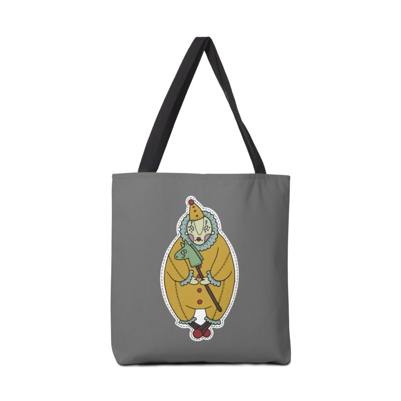 Clown Accessories Bag by Crazy Pangolin's Artist Shop