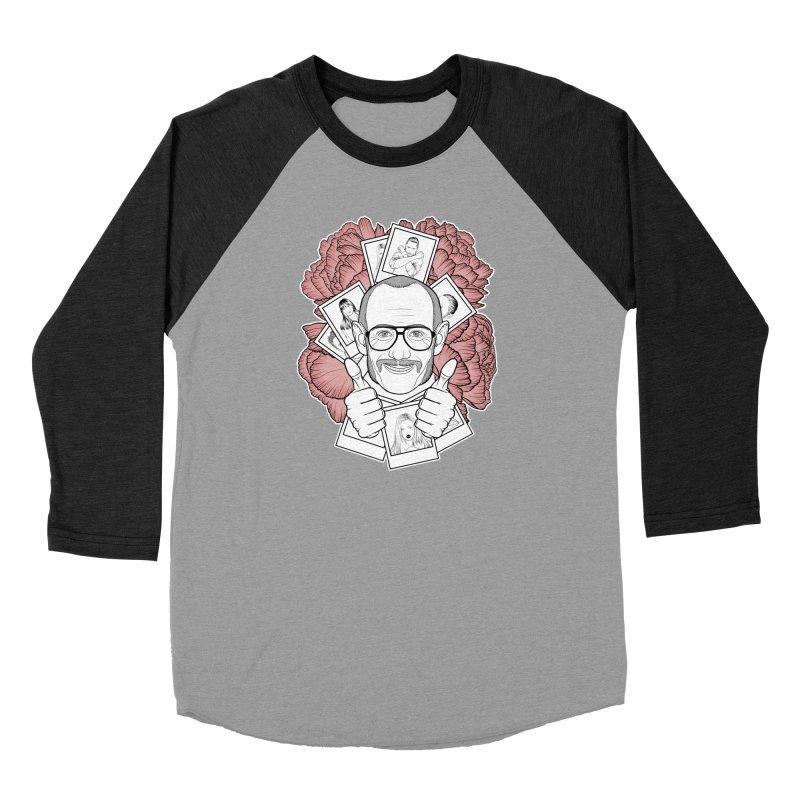 Terry Richardson Men's Baseball Triblend Longsleeve T-Shirt by Crazy Pangolin's Artist Shop