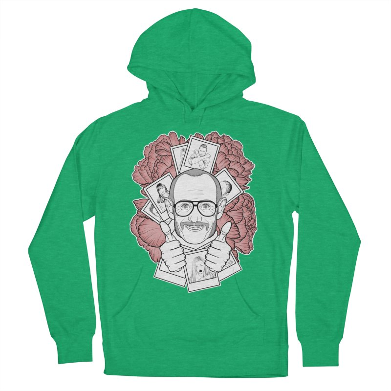 Terry Richardson Women's French Terry Pullover Hoody by Crazy Pangolin's Artist Shop