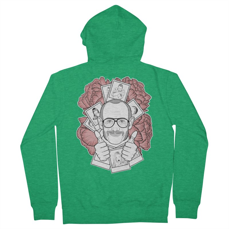 Terry Richardson Women's French Terry Zip-Up Hoody by Crazy Pangolin's Artist Shop