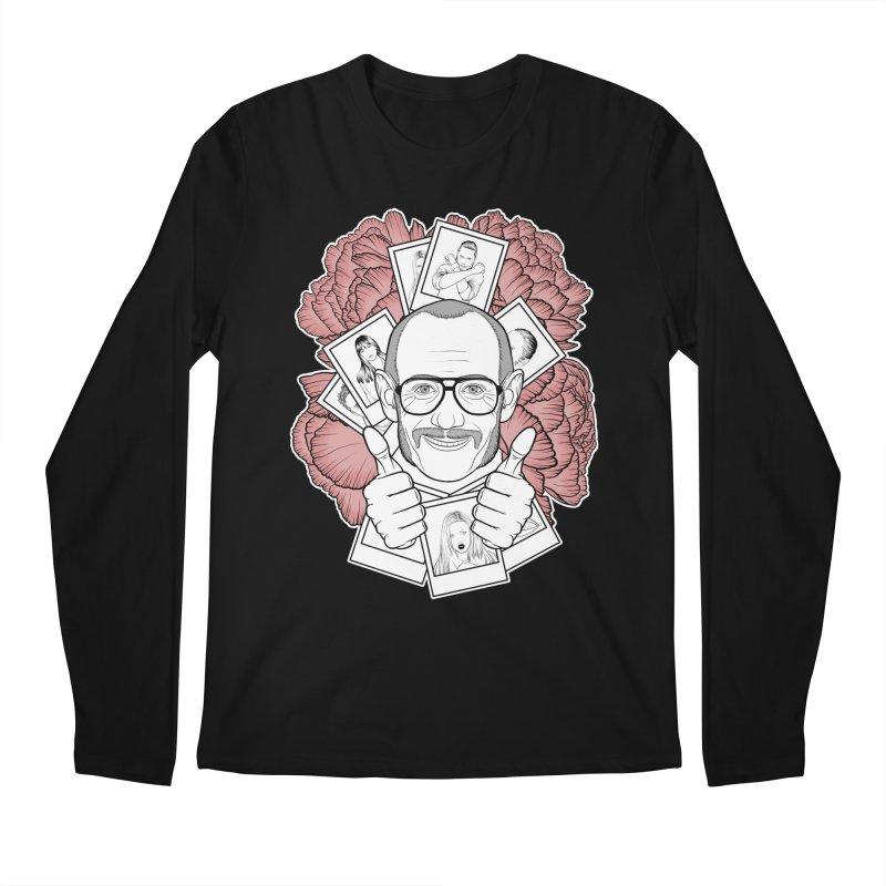 Terry Richardson Men's Regular Longsleeve T-Shirt by Crazy Pangolin's Artist Shop
