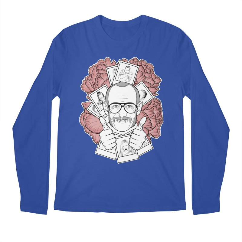 Terry Richardson Men's Regular Longsleeve T-Shirt by Crazy Pangolin's Artist Shop