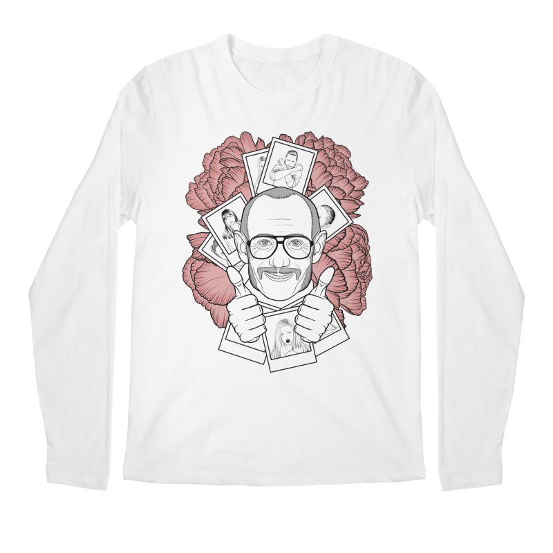 Terry Richardson Men's Longsleeve T-Shirt by Crazy Pangolin's Artist Shop