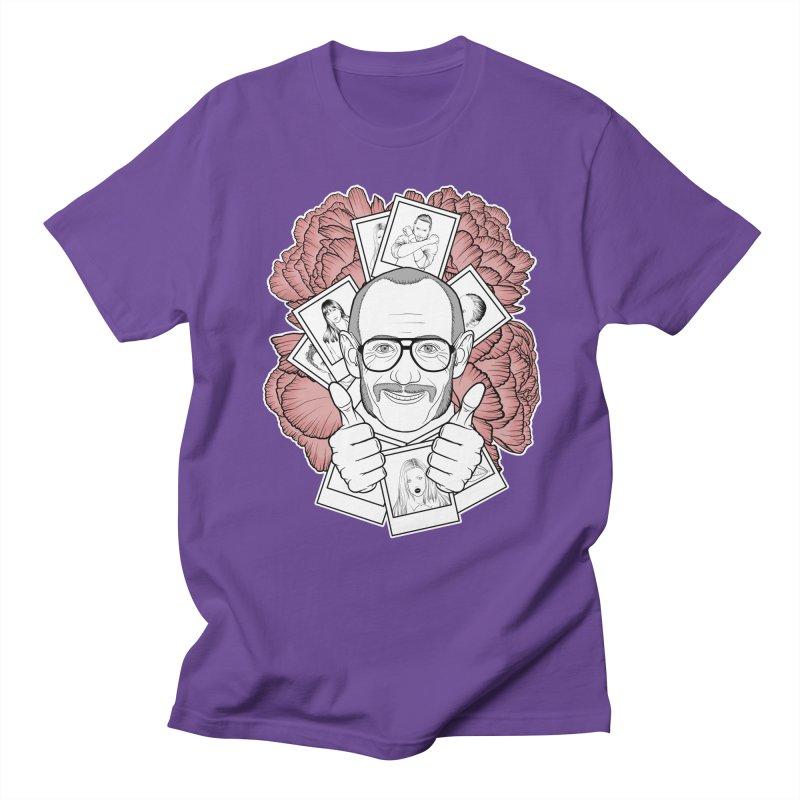 Terry Richardson Men's Regular T-Shirt by Crazy Pangolin's Artist Shop