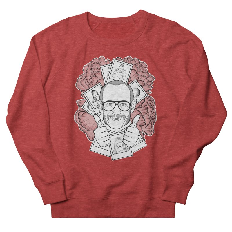 Terry Richardson Women's French Terry Sweatshirt by Crazy Pangolin's Artist Shop