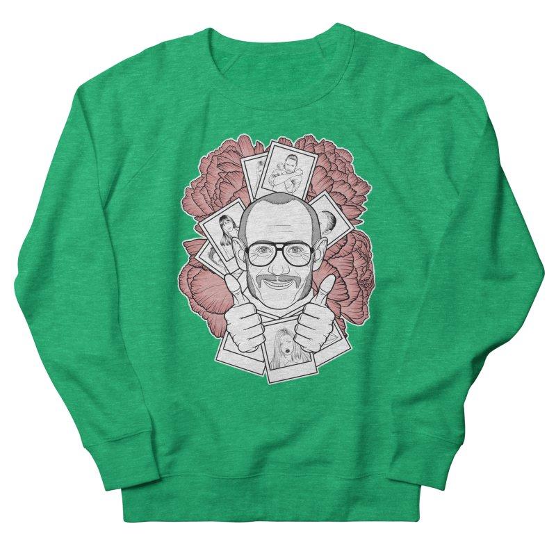 Terry Richardson Men's French Terry Sweatshirt by Crazy Pangolin's Artist Shop