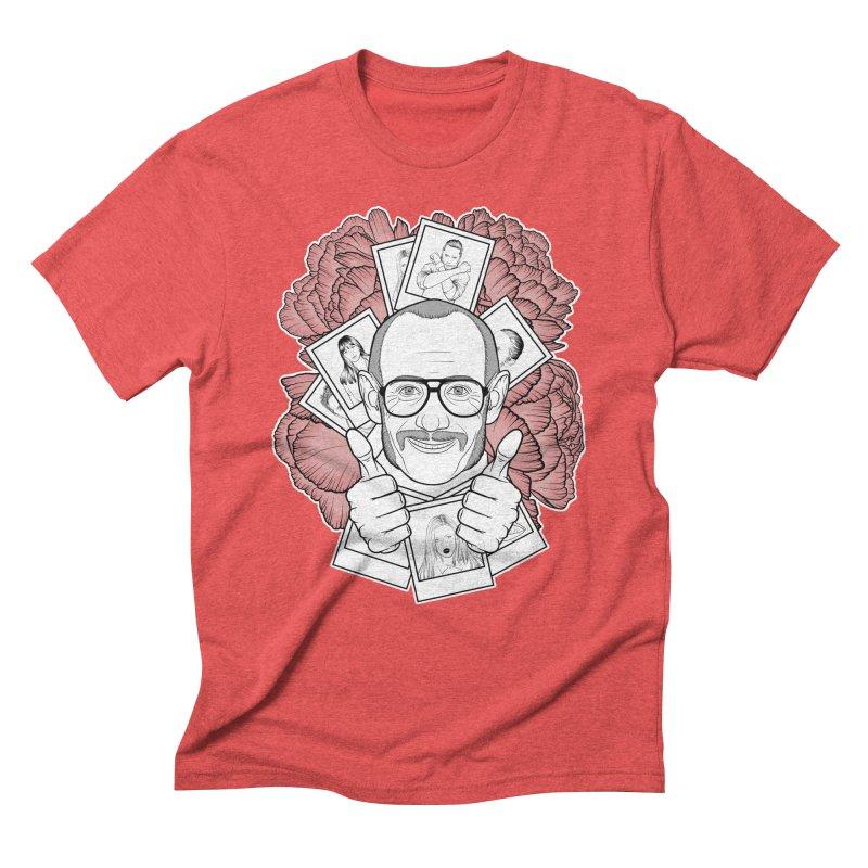 Terry Richardson Men's Triblend T-Shirt by Crazy Pangolin's Artist Shop