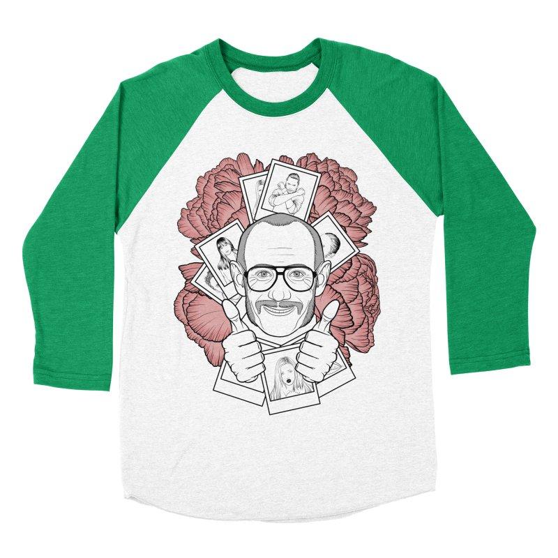 Terry Richardson Women's Baseball Triblend T-Shirt by Crazy Pangolin's Artist Shop