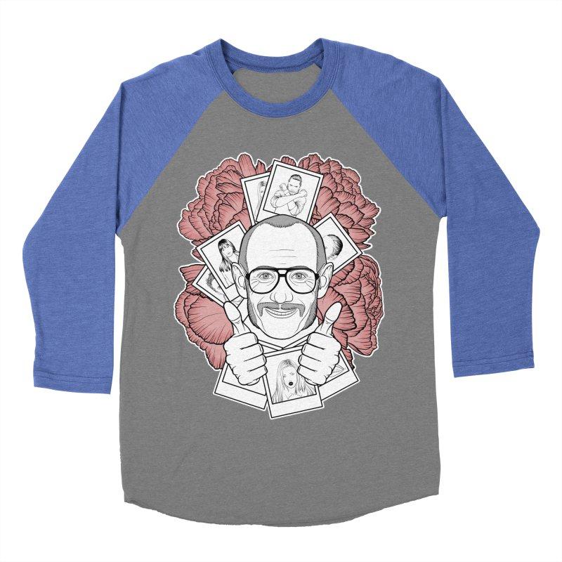 Terry Richardson Women's Baseball Triblend Longsleeve T-Shirt by Crazy Pangolin's Artist Shop