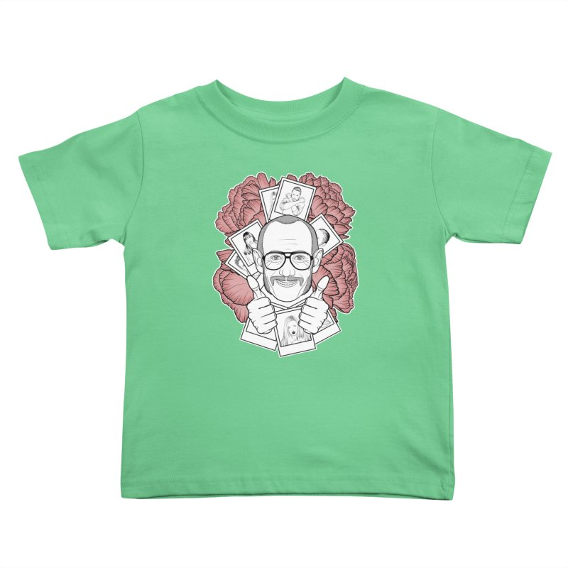 Terry Richardson Kids Toddler T-Shirt by Crazy Pangolin's Artist Shop