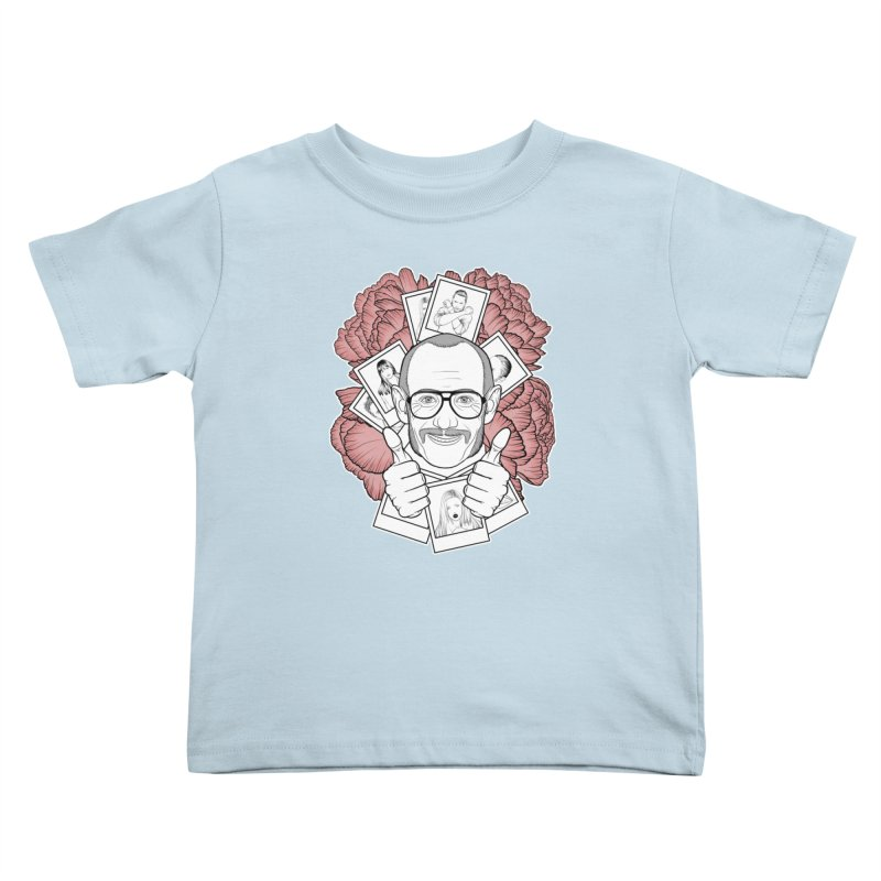Terry Richardson Kids Toddler T-Shirt by Crazy Pangolin's Artist Shop
