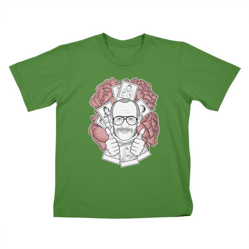 Terry Richardson Kids T-Shirt by Crazy Pangolin's Artist Shop