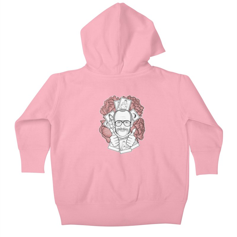 Terry Richardson Kids Baby Zip-Up Hoody by Crazy Pangolin's Artist Shop