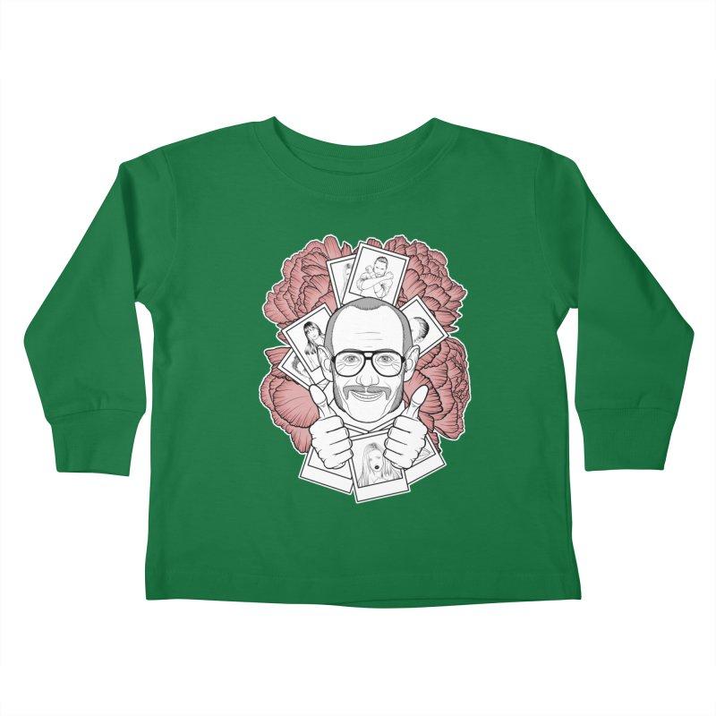 Terry Richardson Kids Toddler Longsleeve T-Shirt by Crazy Pangolin's Artist Shop