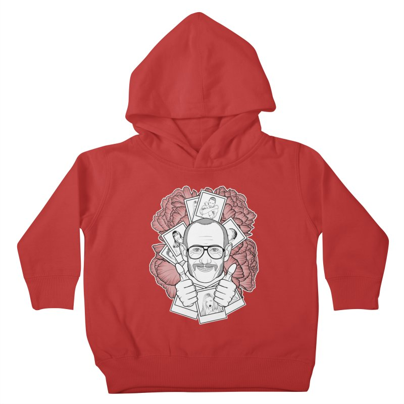 Terry Richardson Kids Toddler Pullover Hoody by Crazy Pangolin's Artist Shop