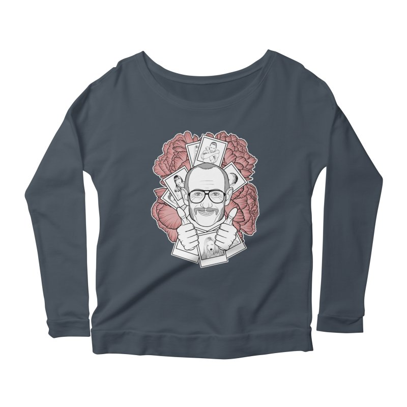 Terry Richardson Women's Scoop Neck Longsleeve T-Shirt by Crazy Pangolin's Artist Shop