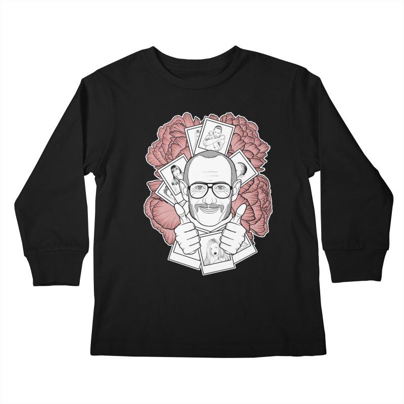 Terry Richardson Kids Longsleeve T-Shirt by Crazy Pangolin's Artist Shop