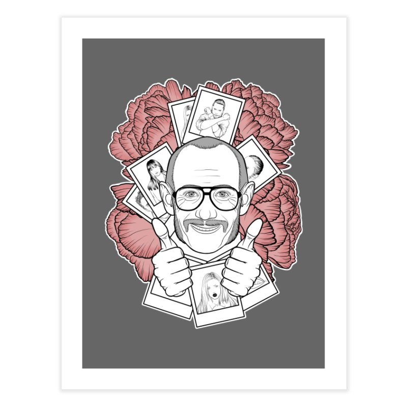 Terry Richardson Home Fine Art Print by Crazy Pangolin's Artist Shop