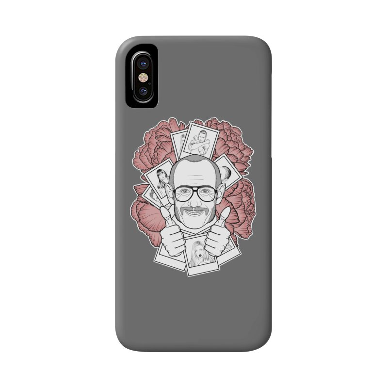 Terry Richardson Accessories Phone Case by Crazy Pangolin's Artist Shop