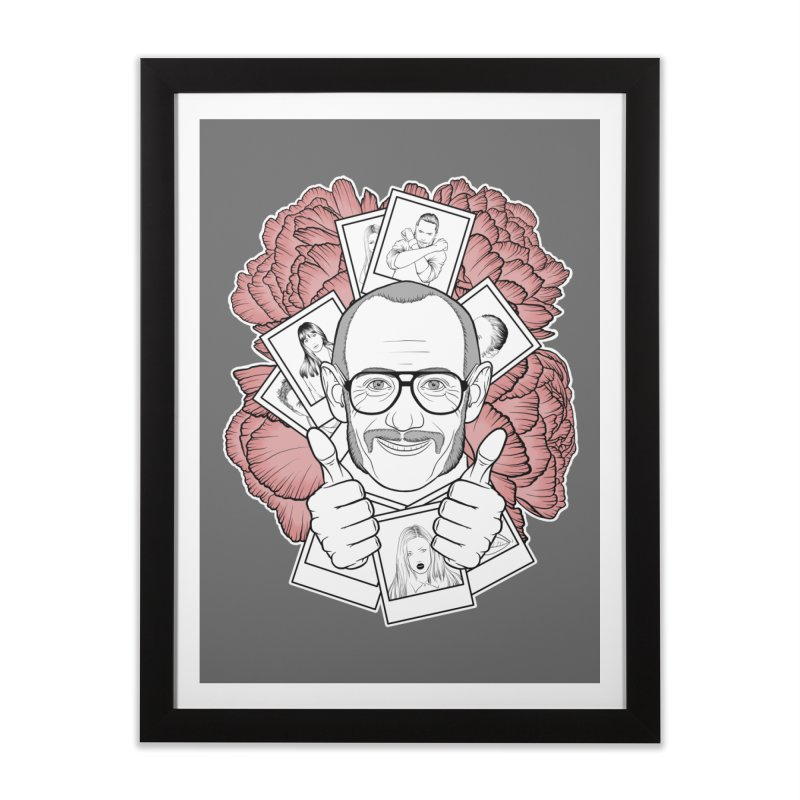 Terry Richardson Home Framed Fine Art Print by Crazy Pangolin's Artist Shop