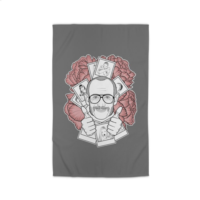 Terry Richardson Home Rug by Crazy Pangolin's Artist Shop