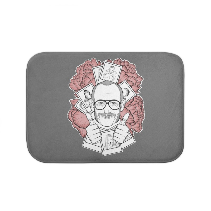 Terry Richardson Home Bath Mat by Crazy Pangolin's Artist Shop