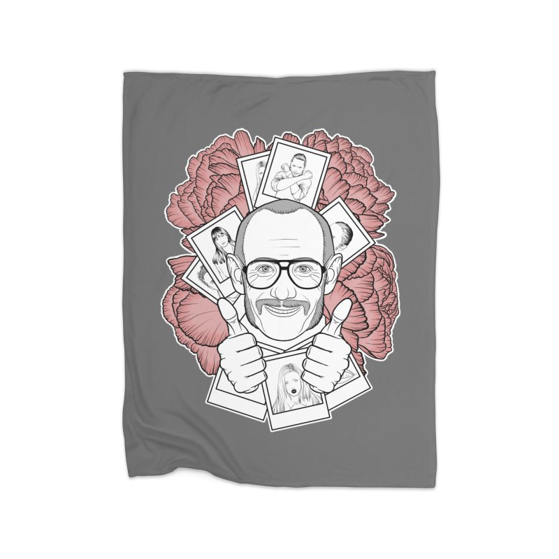 Terry Richardson Home Fleece Blanket Blanket by Crazy Pangolin's Artist Shop