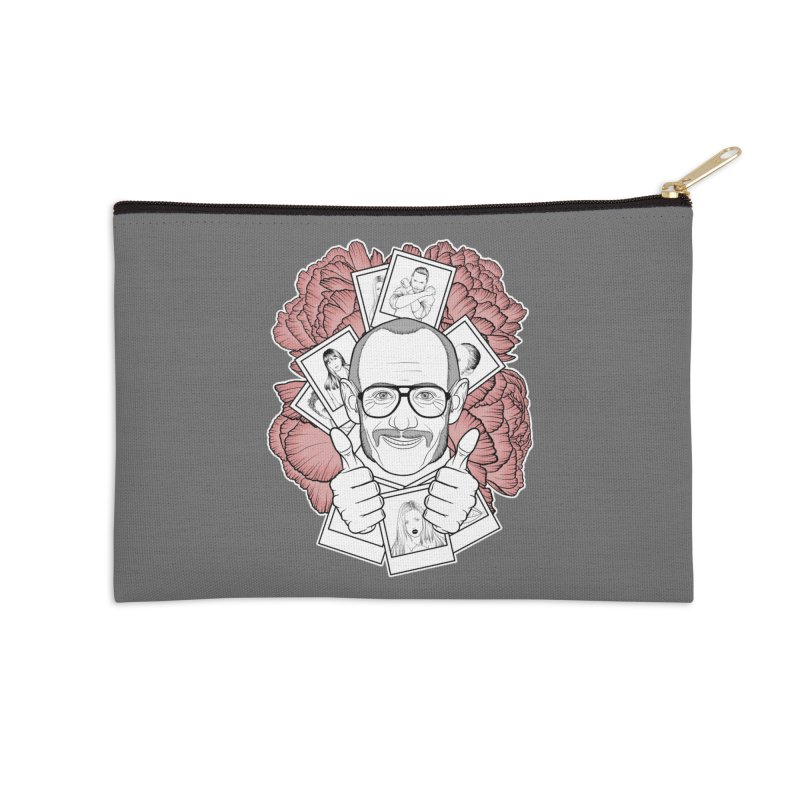 Terry Richardson Accessories Zip Pouch by Crazy Pangolin's Artist Shop