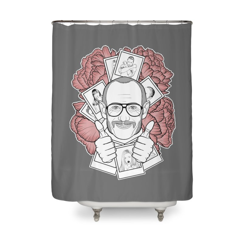 Terry Richardson Home Shower Curtain by Crazy Pangolin's Artist Shop