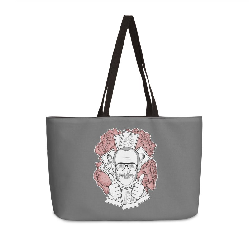 Terry Richardson Accessories Weekender Bag Bag by Crazy Pangolin's Artist Shop