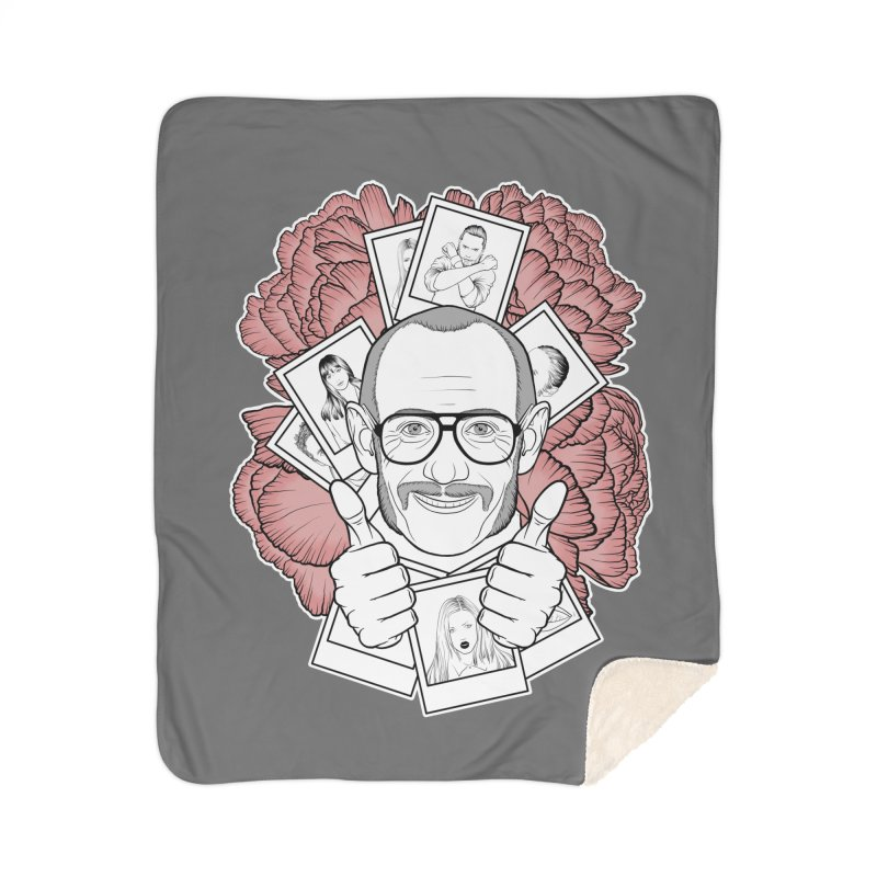 Terry Richardson Home Sherpa Blanket Blanket by Crazy Pangolin's Artist Shop
