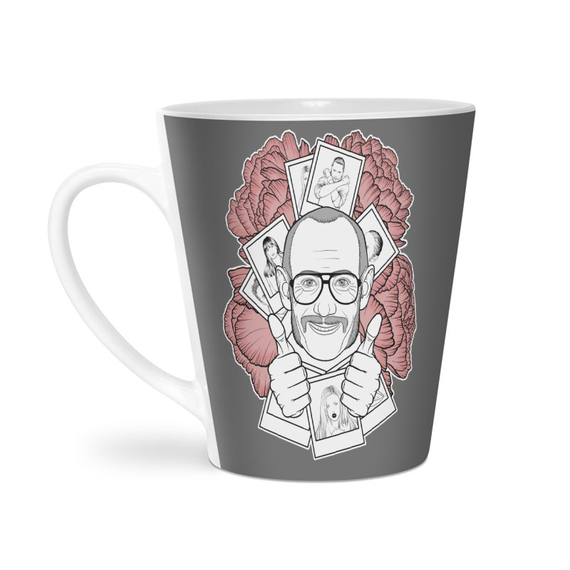 Terry Richardson Accessories Latte Mug by Crazy Pangolin's Artist Shop