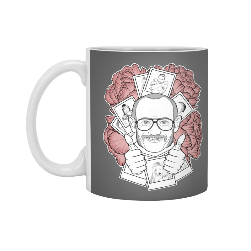 Terry Richardson Accessories Standard Mug by Crazy Pangolin's Artist Shop
