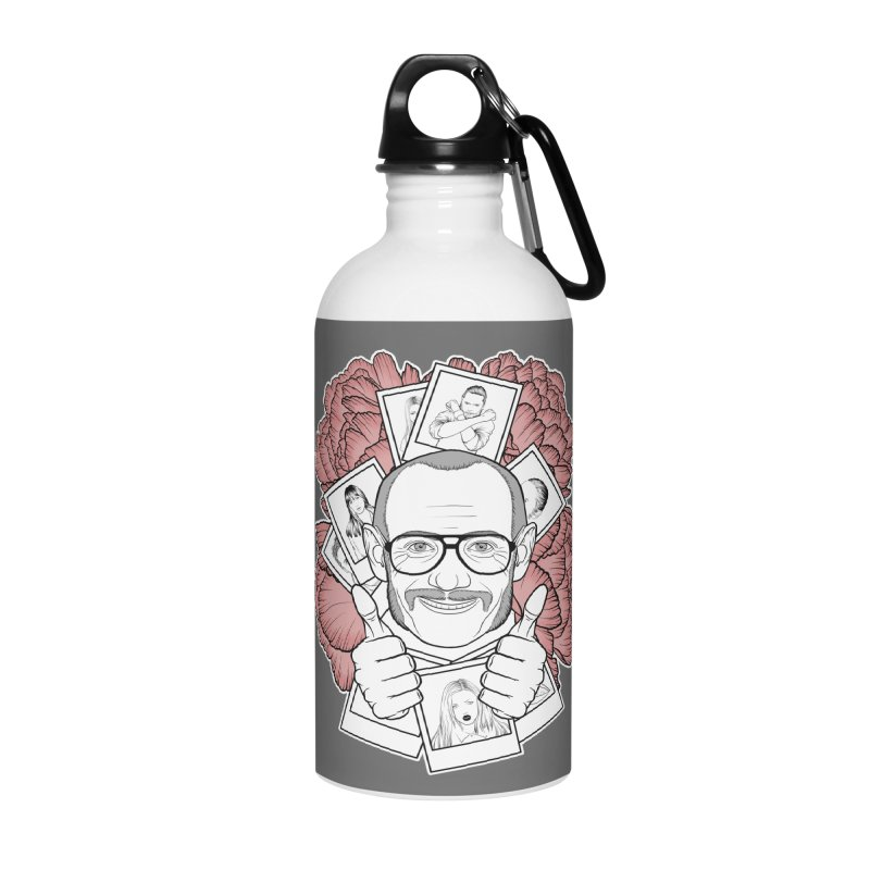 Terry Richardson Accessories Water Bottle by Crazy Pangolin's Artist Shop