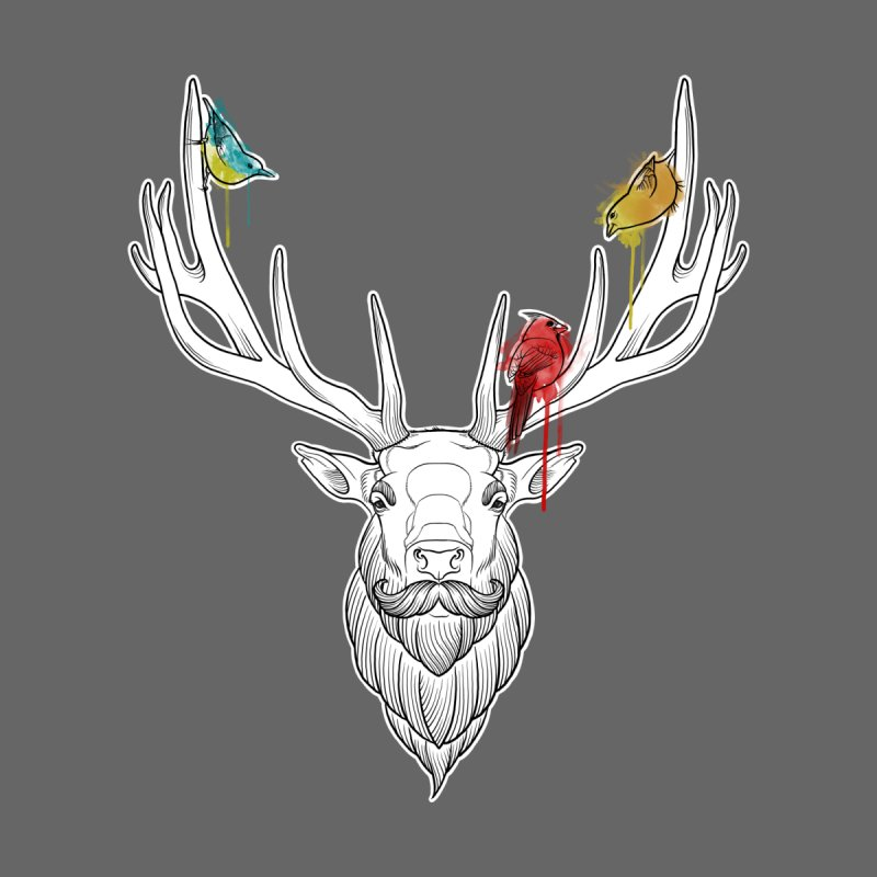 Oh Deer... Men's T-Shirt by Crazy Pangolin's Artist Shop