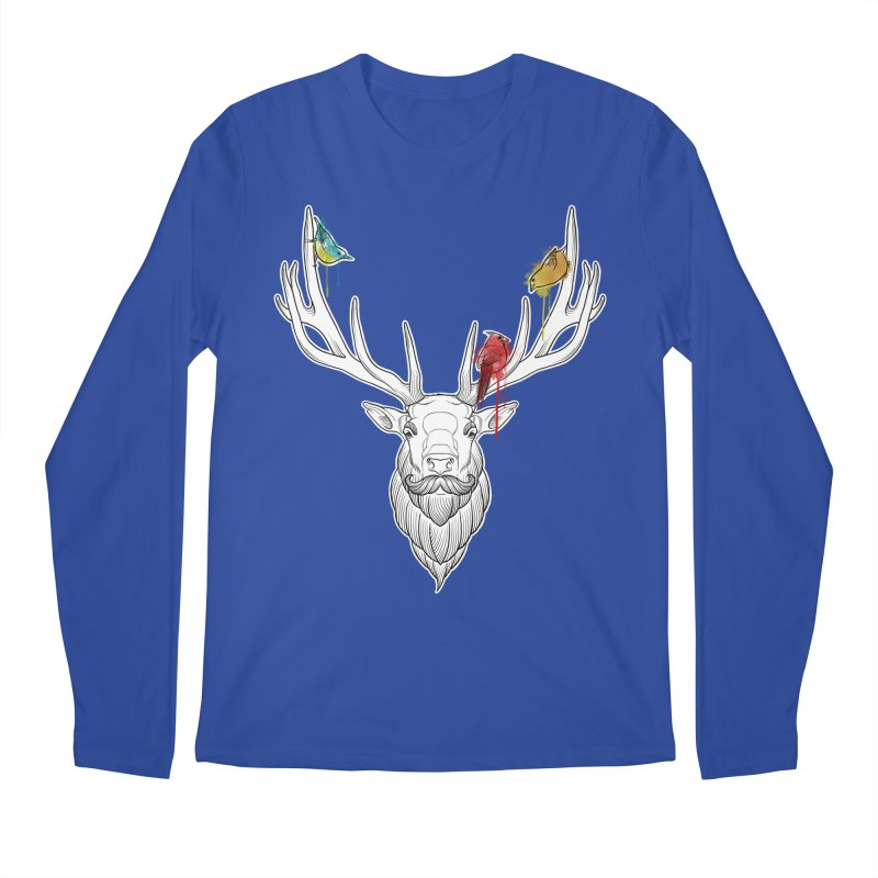 Oh Deer... Men's Longsleeve T-Shirt by Crazy Pangolin's Artist Shop