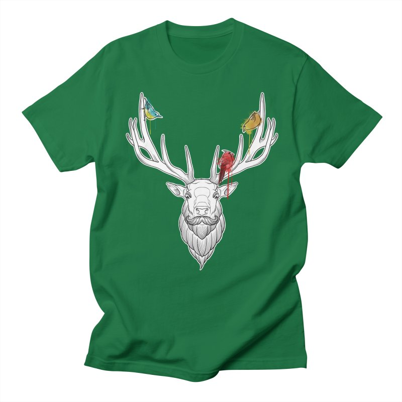 Oh Deer... Women's Regular Unisex T-Shirt by Crazy Pangolin's Artist Shop