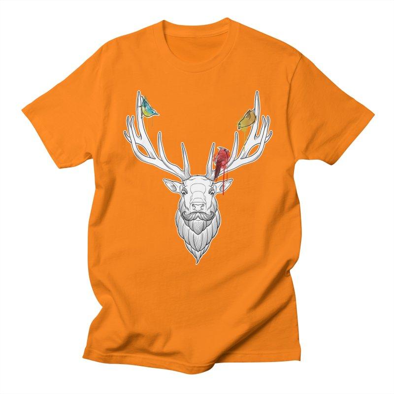 Oh Deer... Women's Unisex T-Shirt by Crazy Pangolin's Artist Shop