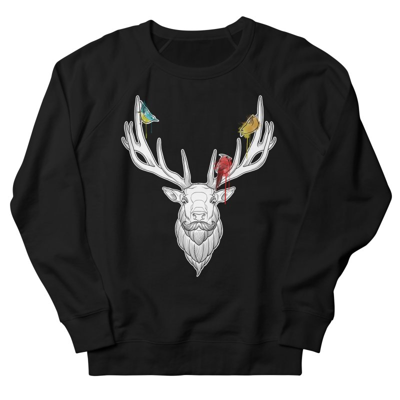 Oh Deer... Women's Sweatshirt by Crazy Pangolin's Artist Shop