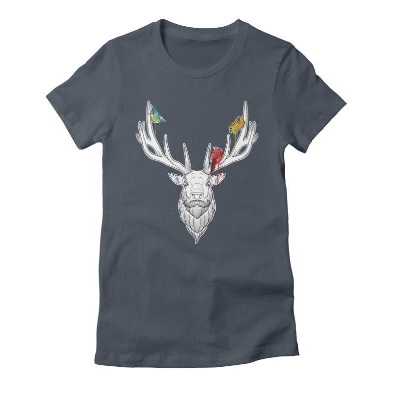 Oh Deer... Women's T-Shirt by Crazy Pangolin's Artist Shop
