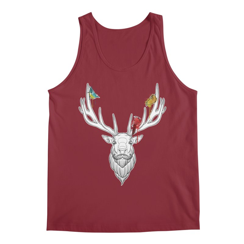 Oh Deer... Men's Regular Tank by Crazy Pangolin's Artist Shop