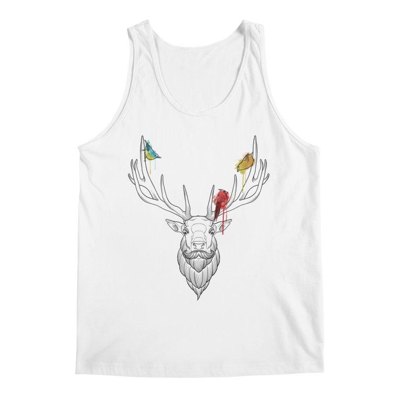 Oh Deer... Men's Regular Tank by Crazy Pangolin's Artist Shop